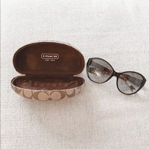 Brand New Coach Sunglasses With Case